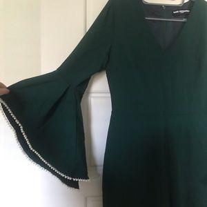 Karl Lagerfeld Paris Green/Pearl Jumpsuit